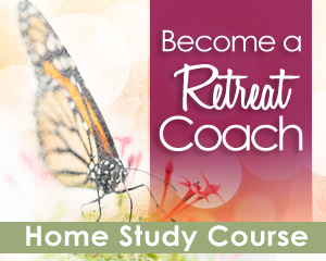 Become a Retreat Coach button