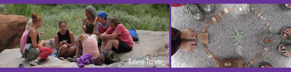 women on rock training